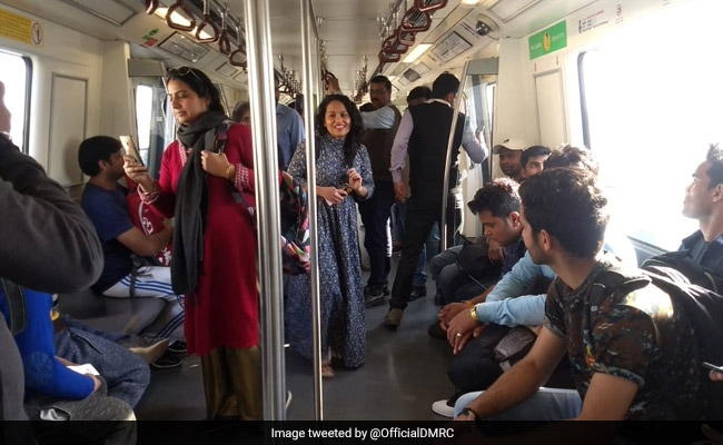 Delhi Metro Sends 2 Options To Government In Report On Free Rides For Women