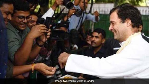 I won't be part of electing new Congress chief: Rahul Gandhi
