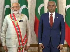 India, Maldives Ink 6 Pacts As PM Narendra Modi, President Solih Hold Talks