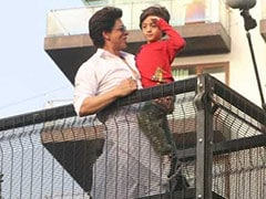 Shah Rukh Khan And AbRam Send Eid Greetings. See Pics
