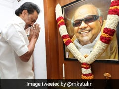 """Kalaignar Lives On"": MK Stalin's ""Save Tamil"" Note Amid Anti-Hindi Stir"