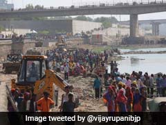Sabarmati Would Flow As Clean River After Monsoon: Vijay Rupani