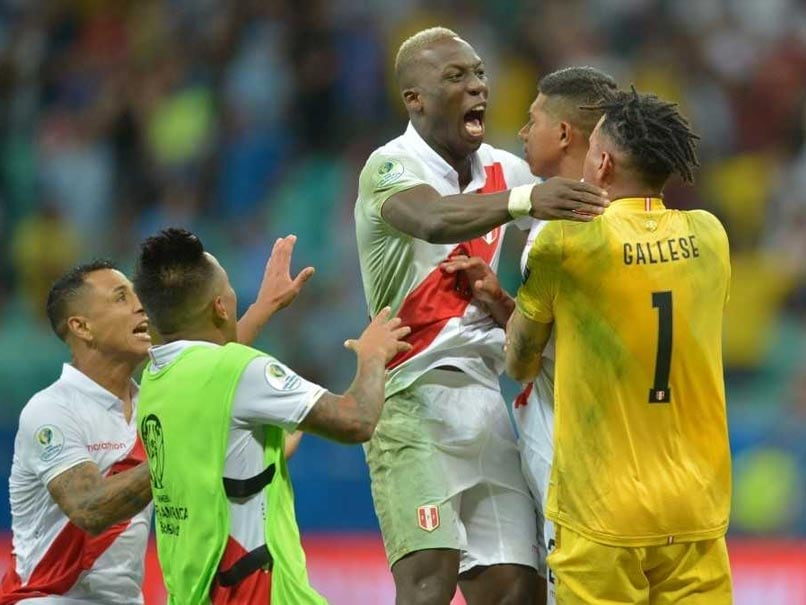 Uruguay dumped out of the Copa America by unfancied Peru