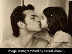 Fathers ,Sara Khan ,Saif Khan ,sara khan post ,sara khan photo,अली खान,पापा सैफ,शेयर,तस्वीर,फादर्स डे,Photo वायरल