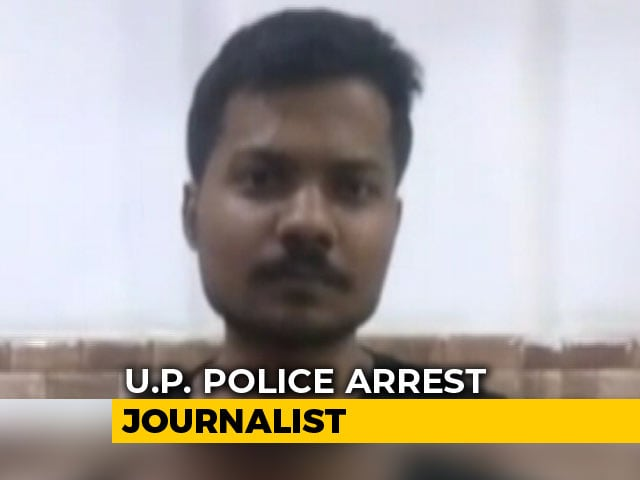 Video : Journalist, TV Channel Head Arrested Over Content On Yogi Adityanath
