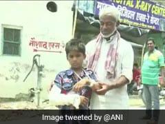 Bihar Boy Gets His Left Hand Fractured, Doctors Cast Plaster On Right