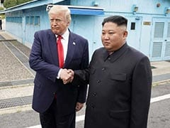Trump Meets Kim Jong Un In North Korea After Crossing Demilitarised Zone
