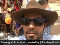 रणदीप हुड्डा ने की सूखे की मार झेल रहे लोगों की मदद, बोले- सरकार निकाले कोई समाधान...देखें Video