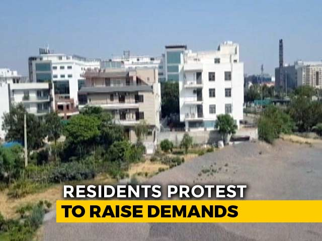 Video : Gurgaon Residents Out On Streets In Protest Against Water Crisis