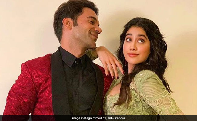 Janhvi Kapoor Shares An Update From The Sets Of RoohiAfza