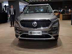 MG Hector Launched In India; Prices Start At Rs. 12.18 Lakh