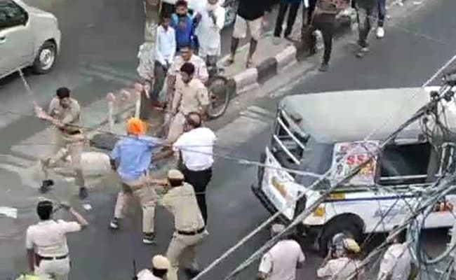 'Provoked By Driver': Delhi Police's Report After Viral Video Of Fight
