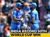 Video : World Cup: Shami Hat-Trick Seals India's Nervy Win Over Afghanistan