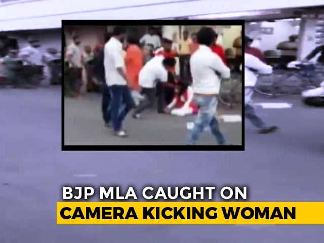 Video : Gujarat BJP Lawmaker's 'Rakhi' Gesture After Assaulting Woman On Video