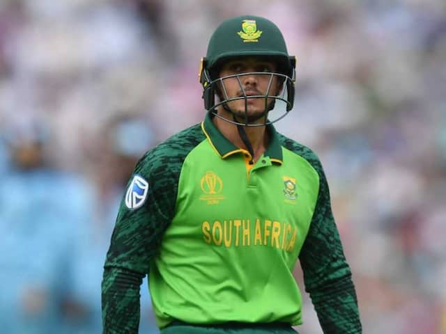 Quinton de Kock doesnt want team to lose sleep and prepare for the worst on India tour