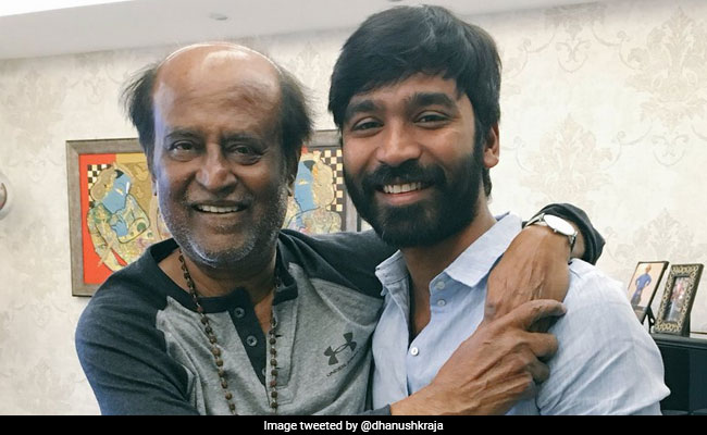 Dhanush On Co-Starring With Rajinikanth In A Film: 'Hope It Happens One Day'