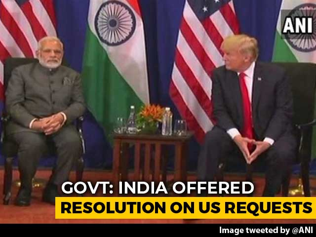 Video : US Move Unfortunate, Says India As Trump Ends Preferential Trade Status
