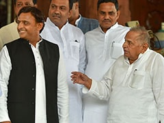 """Akhilesh Yadav Betrayed Father Mulayam For Power,"" Says BJP"