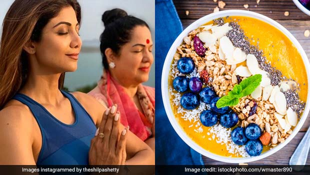 International Yoga Day 2019: Shilpa Shetty's Mango Pear Smoothie Bowl Recipe Is Perfect Pre-Yoga Breakfast (Watch Video)