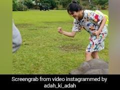 200 साल के कछुए के साथ रेस लगाती नजर आईं बॉलीवुड एक्ट्रेस, वायरल हुआ Video