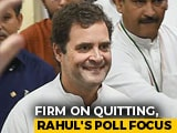 Video : Rahul Gandhi Dials Leaders Of Poll Bound States, Raising Congress Hopes