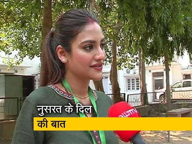 Videos : NDTV से बोलीं नुसरत जहां- मेरे मन में सभी धर्मों के लिए सम्मान