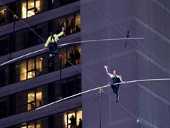 In Hair-Raising Stunt, Siblings Walk On Wire 25 Stories Over New York