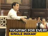 "Video : ""Will Fight BJP Every Day"": Rahul Gandhi At Parliamentary Party Meet"