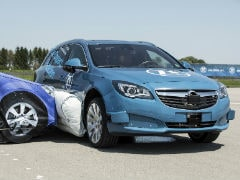 ZF Demonstrates World's First Pre-Crash External Side Airbag System