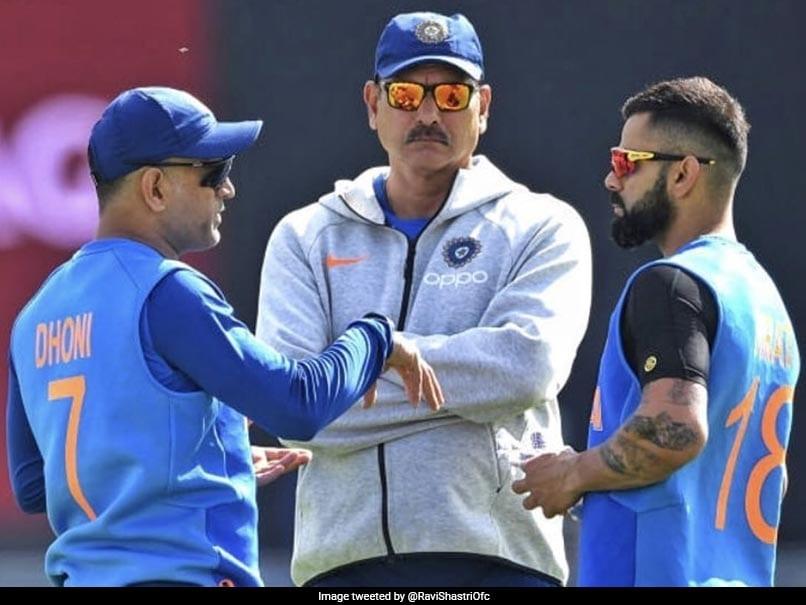 """Different Personalities, Both Champions"": Ravi Shastri On MS Dhoni, Virat Kohli"