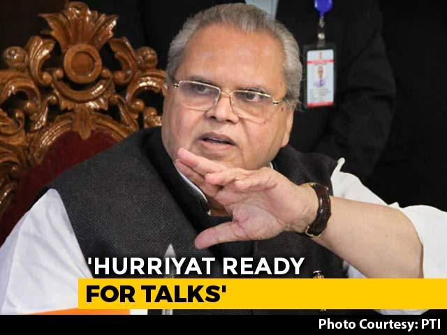 Video : Hurriyat Ready For Talks, Says Jammu And Kashmir Governor