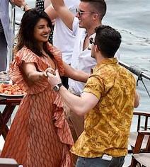 Pics From Priyanka And Nick's Parisian Cruise With Sophie And Joe