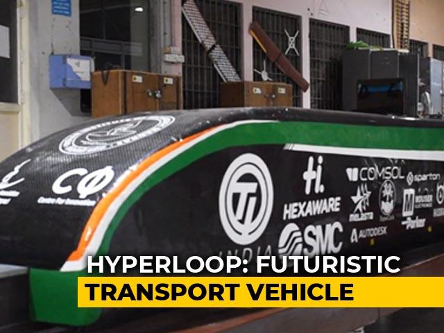 Video : IIT Madras' Hyperloop Design Chosen For Elon Musk's Competition