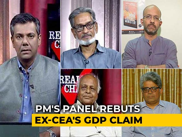 Video : PM'S Panel vs Arvind Subramanian On GDP