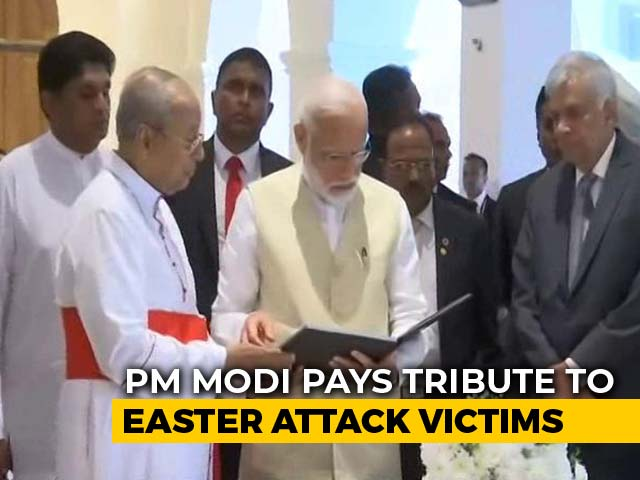Video : PM Modi Is The First World Leader To Visit Sri Lanka After Easter Blasts