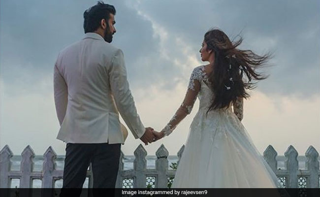 Rajeev Sen and Charu Asopa's pre-wedding celebrations are on in Goa