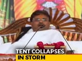 "Video : ""Get Out, It's Falling"": Rajasthan Tent Collapse Caught On Video"