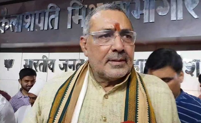 Pulled Up For Iftar Taunt At Nitish Kumar, Giriraj Singh Has No Regrets