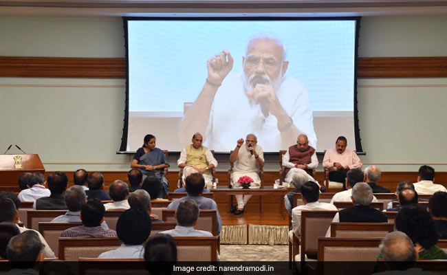 In Meeting With Top Bureaucrats, PM Modi Gives Out A Goal For Next 5 Years