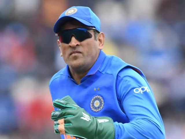 Remove Indian Army Insignia From MS Dhonis Gloves, ICC Asks BCCI