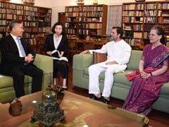 चीनी प्रतिनिधिमंडल ने की सोनिया-राहुल से मुलाकात, भारत-चीन संबंधों पर हुई चर्चा