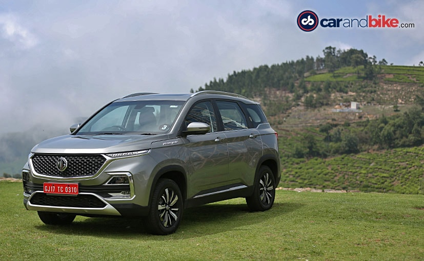 The MG Hector will come in four primary variants- Style, Super, Smart, and Sharp
