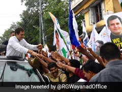 """Committed To Defend People Under Attack By PM"": Rahul Gandhi In Wayanad"