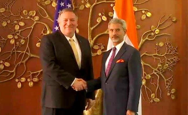 S Jaishankar, Mike Pompeo Hold Talks To Strengthen Indo-US Partnership