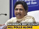 Video : It's Over, Says Mayawati, Questions Behaviour Of 'Ex' Samajwadi Party