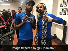 World Cup 2019: Shikhar Dhawan Steps Up His Recovery Efforts, Sweats Out In The Gym