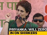 "Video : ""Will Find Out Those Who Have Not Worked For Party"": Priyanka Gandhi"