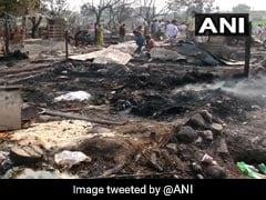 Massive Fire Razes 150 Shanties Of Labourers, Rohingya In Jammu