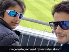 World Cup Should Be Fun. Mahesh Babu Attends India And Australia's Match In London With Family