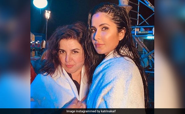Sooryavanshi: Katrina Kaif Adds Another Picture To Her 'Towel Series,' This Time With 'Mummy' Farah Khan